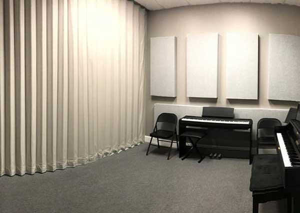 Hangszigetelő függöny készítés